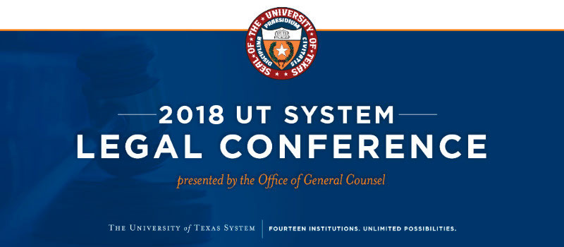 2018 UTS Legal Conference