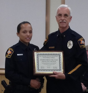 Inspector Bloom awarded Instructor of the Year by the 93rd BPOC