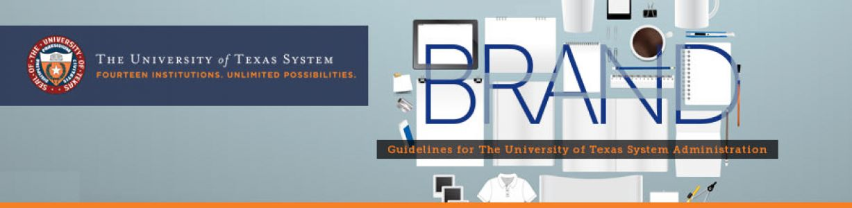 Branding guidelines for the University of Texas System